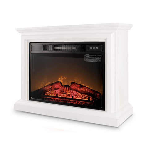 Deluxe Insert Fireplace Remote-White