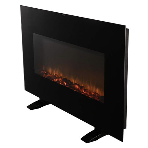 Image of Electrical Fireplace Stove with Heater