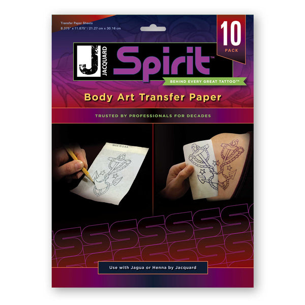 Body Art Transfer Paper (10-Pack)