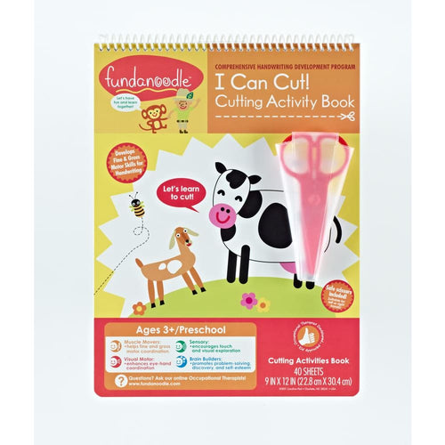 I Can Cut! Activity Book With Safety Scissors
