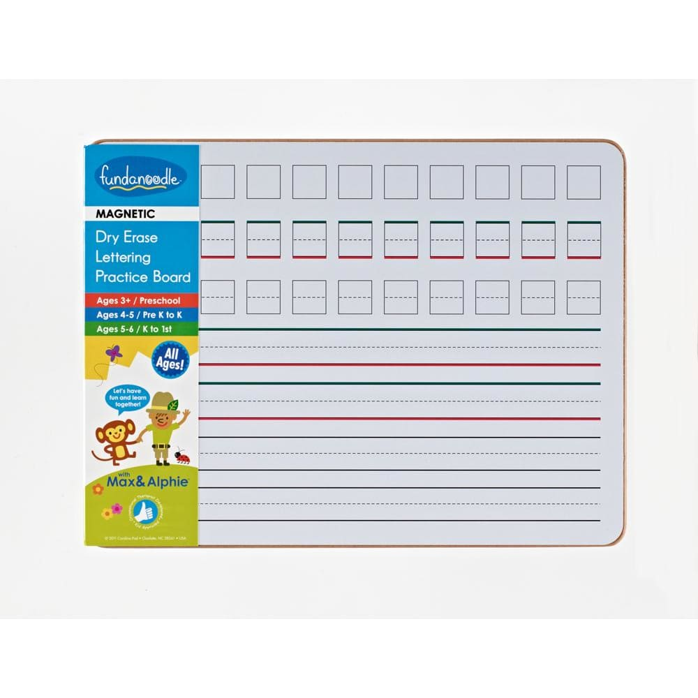 Magnetic Dry Erase Practice Board