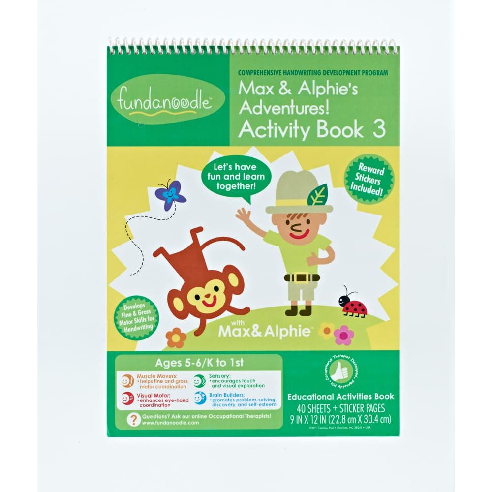 Max & Alphie Adventures Level 3 (5-6 Years)