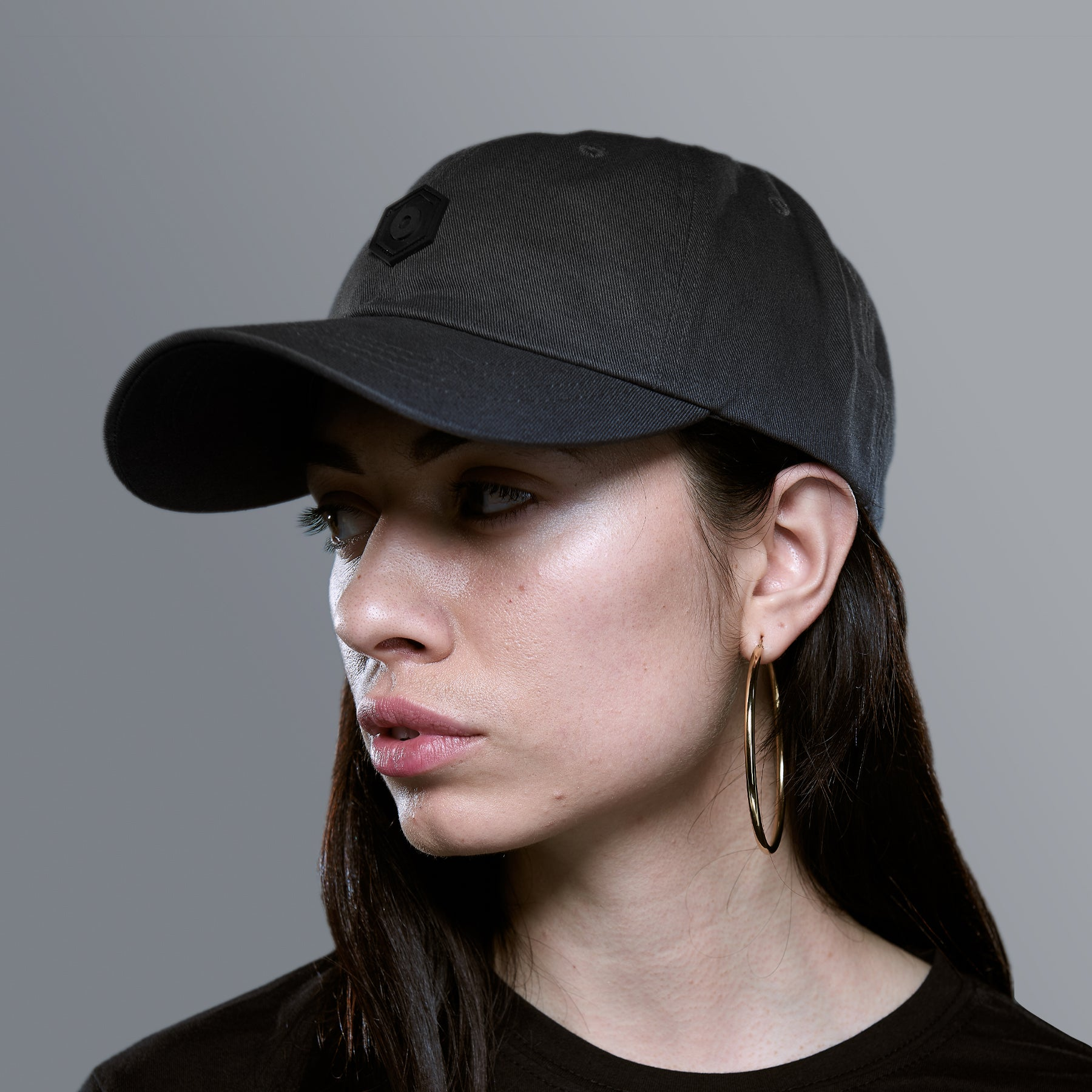 Dad Hat PVC Patch | Gray