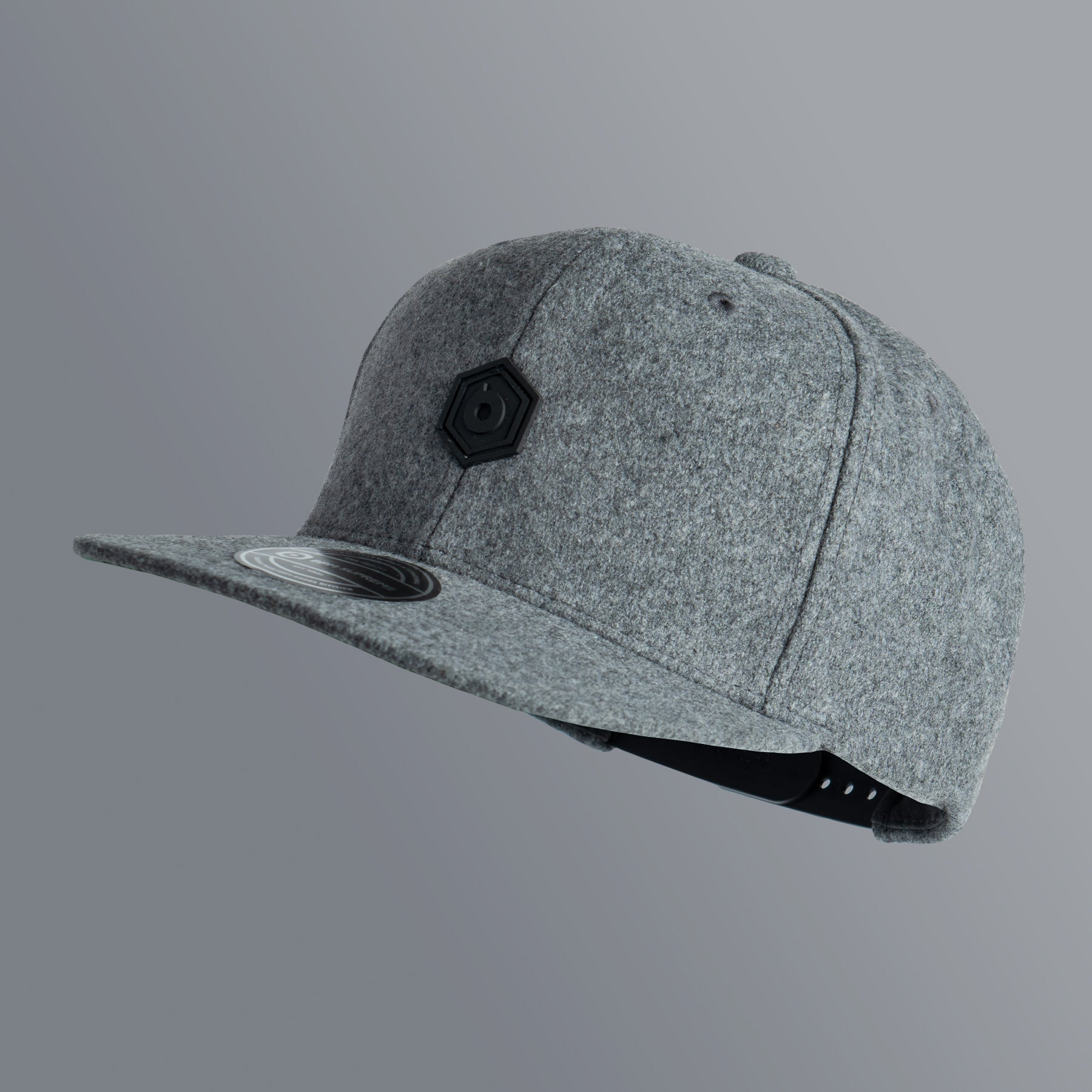 Snapback PVC Patch | Gray