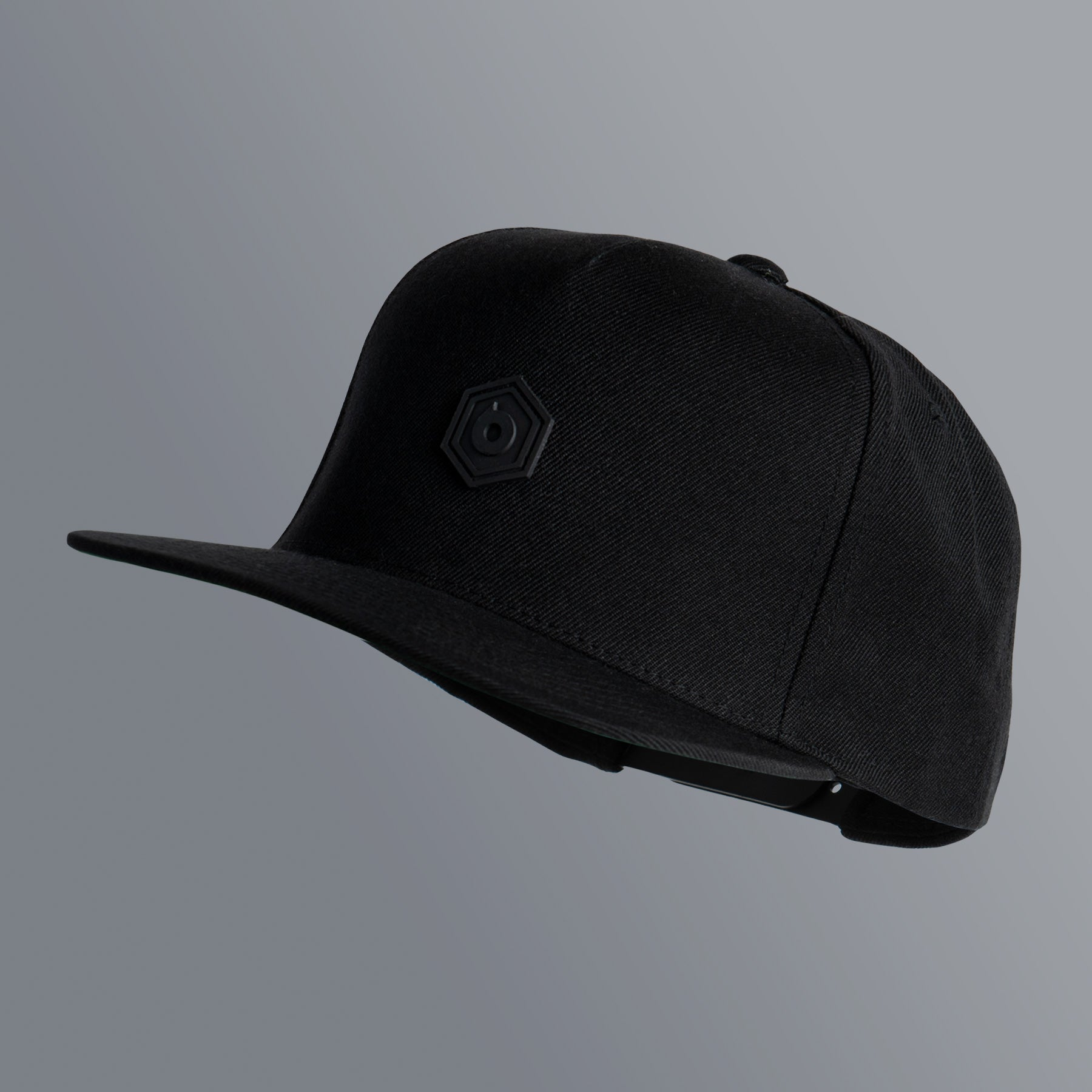 Snapback PVC Patch | Black