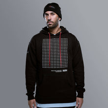 Load image into Gallery viewer, Hexa Grid Hoodie | Black