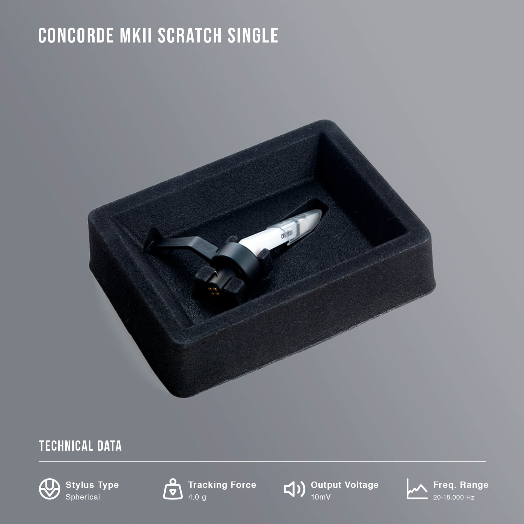 Concorde MKii Scratch Single