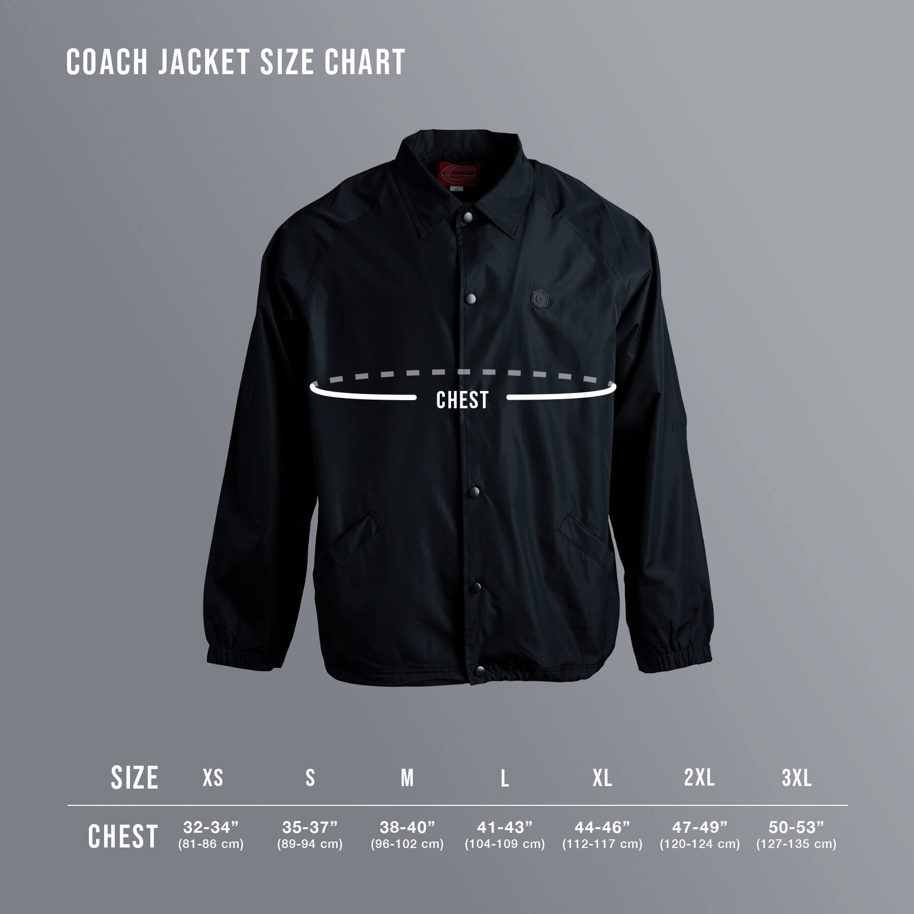 Coaches Jacket - Wave Logo