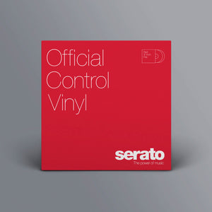 "12"" Serato Standard (Pair) Red"