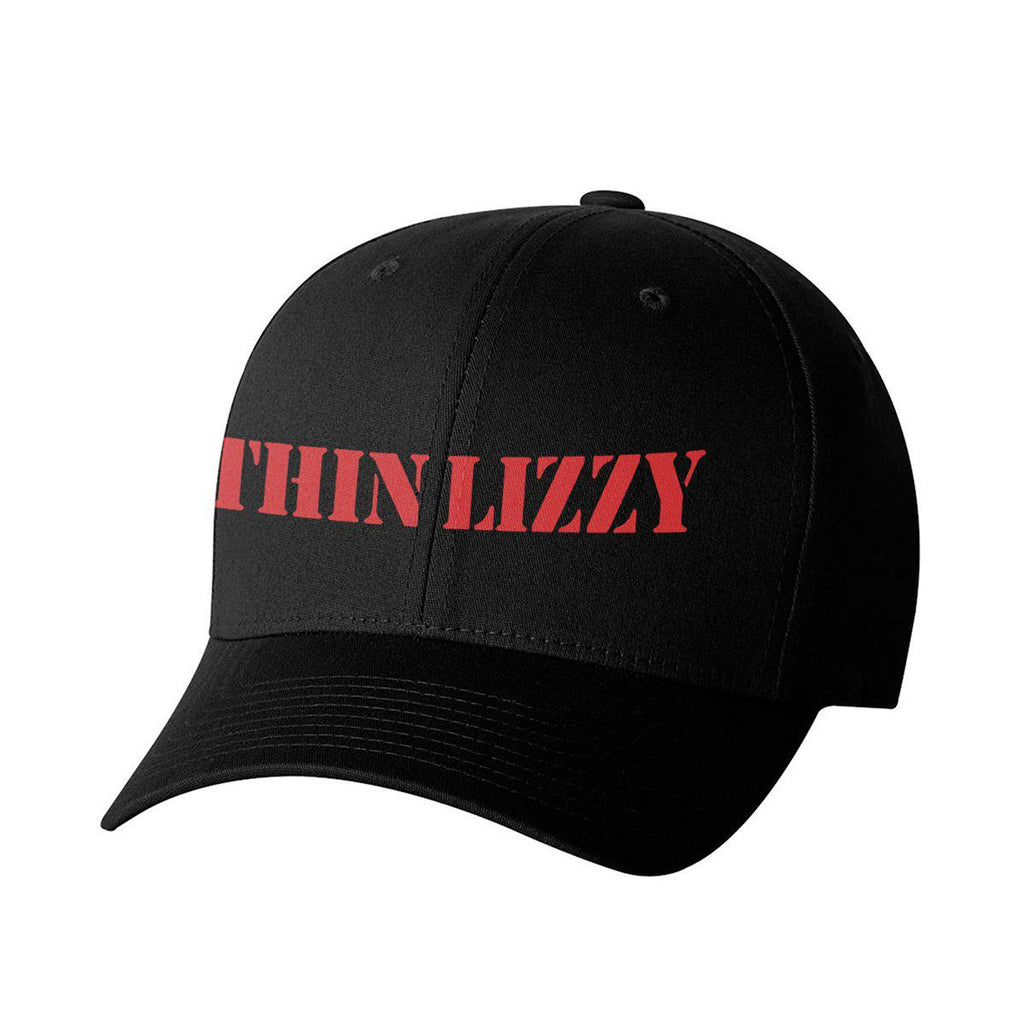 Thin Lizzy Red Logo Cap-Thin Lizzy