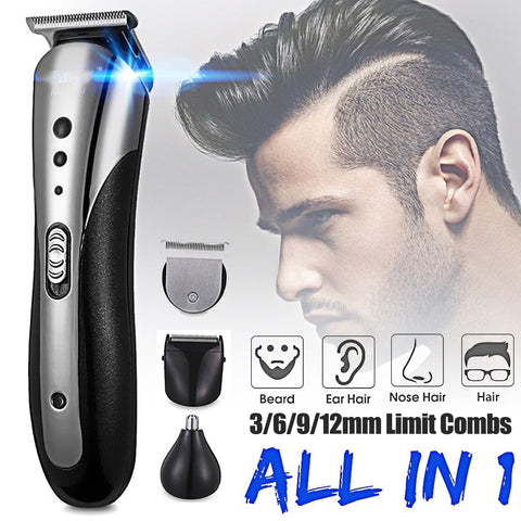 KEMEI All in1 Rechargeable Hair Clipper
