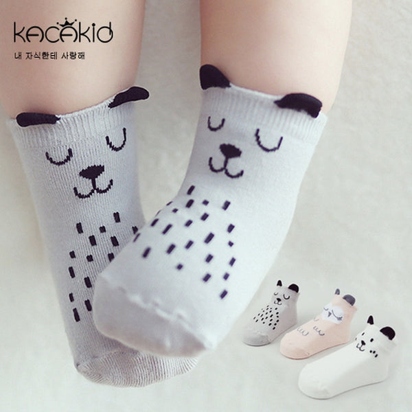 Newborn Cartoon Animal Socks
