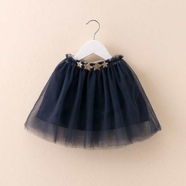 Tutu Skirt with Star Belt