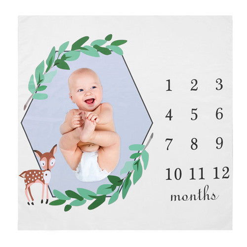 Monthly Milestone Blanket
