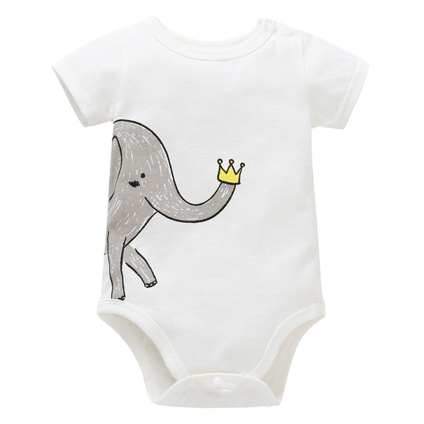 Elephant Crown Onesie