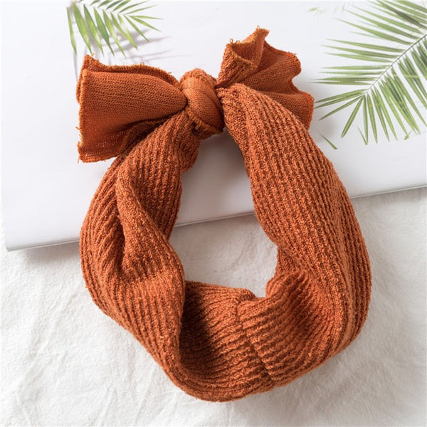 Knitted Newborn Baby Headband