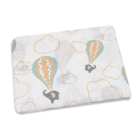 100% Cotton Printed Muslin Swaddle