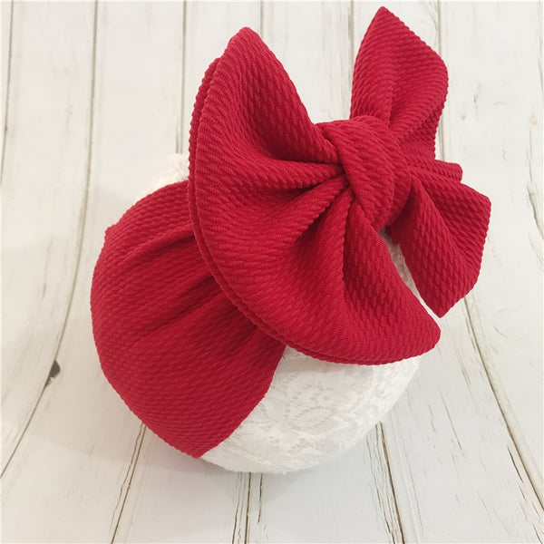 Baby/Toddler Bandeau Bow Headband