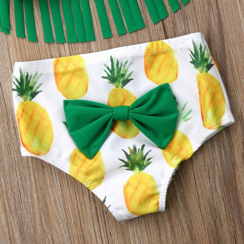 Pineapple Bikini & Matching Headband