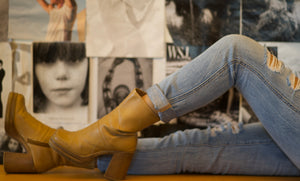 70's Tan Boots