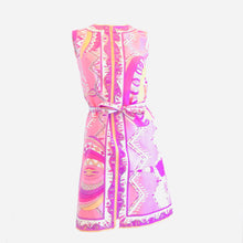 Load image into Gallery viewer, 70's Pink on Pink Summer Dress