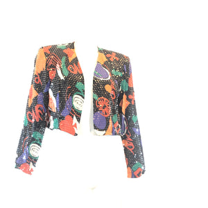 Vintage (ET AL)Pop Art Sequin Blazer