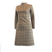 Load image into Gallery viewer, Vintage Brown 70's Dress