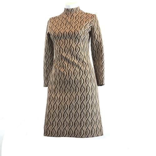Vintage Brown 70's Dress
