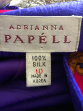 Load image into Gallery viewer, Vintage Silk Adrianna Papell Blazer