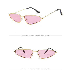 How Bazaar Goth Triangle Glasses