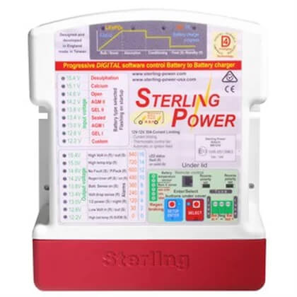 Sterling 30a Battery to Battery Charger (Euro 6 vans)