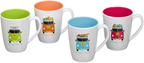 Camper Smiles 4 Cup Set