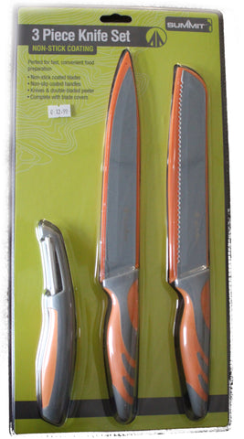 Summit Knife set with Peeler