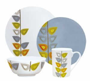 LEAF 16PC DINNER SET melamine