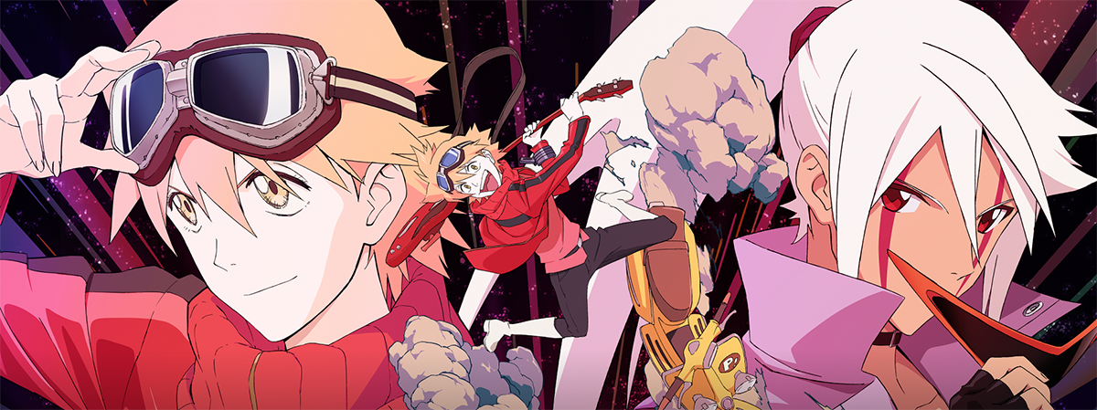 FLCL Progressive y FLCL Alternative llegan a Crunchyroll