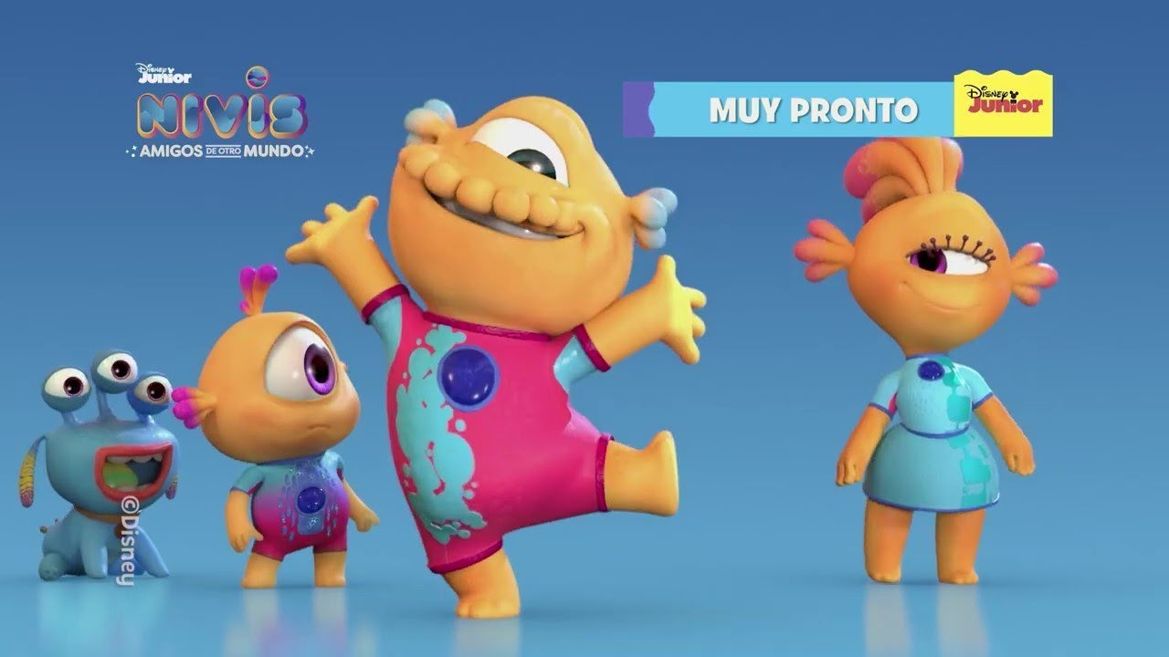 "Disney Junior presenta las ""Nivistorias"" en Youtube"