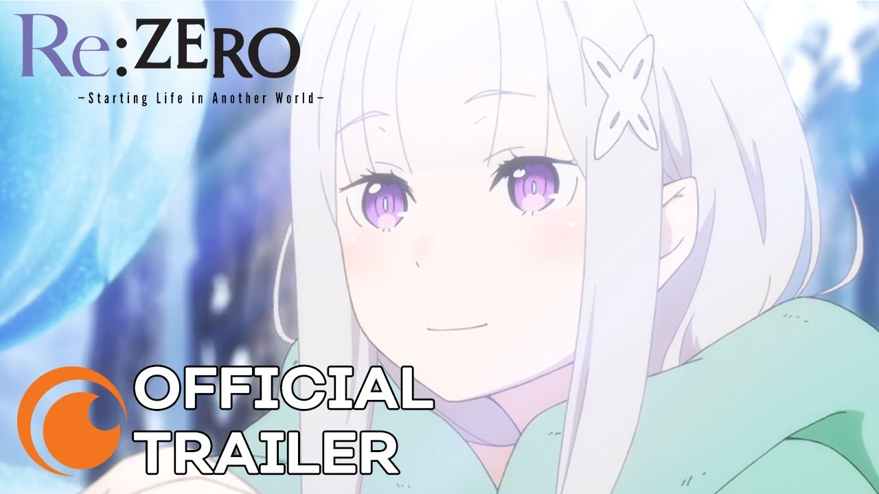 Re:ZERO: The Frozen Bond llegará el 30 de abril a Crunchyroll (Trailer y Póster)