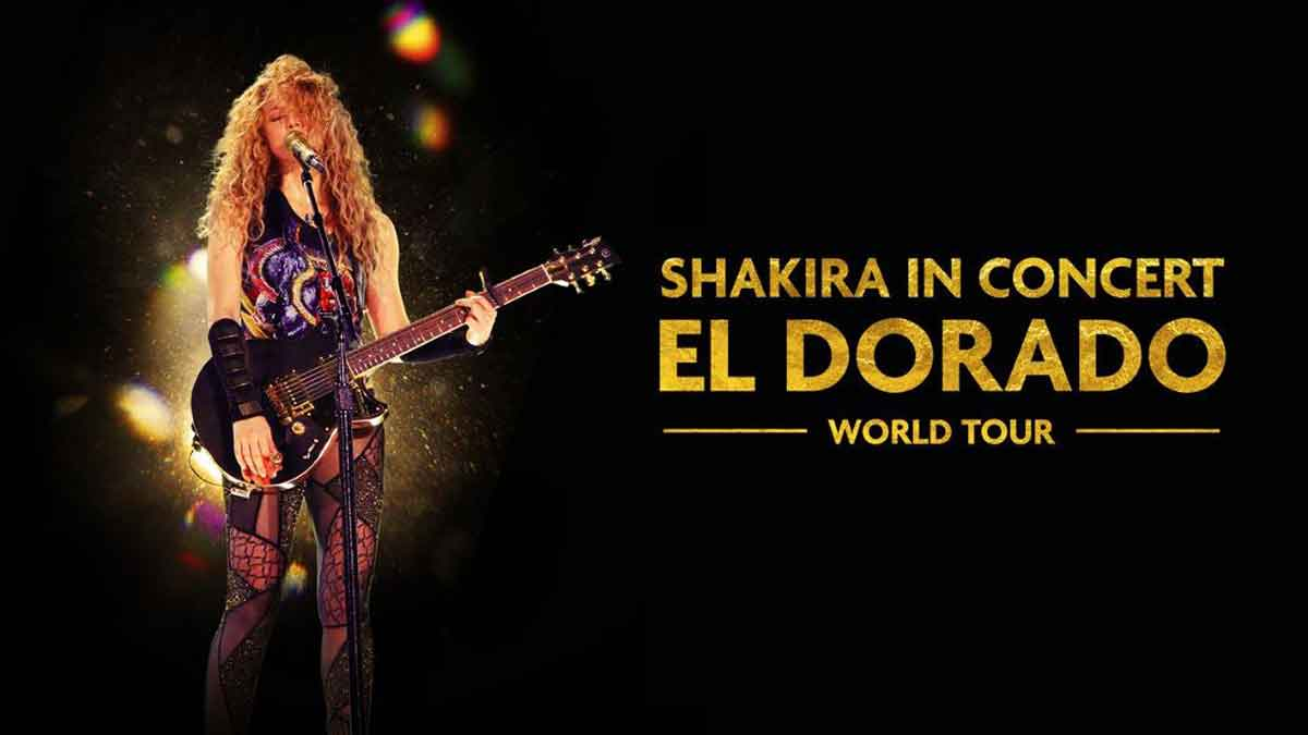 'SHAKIRA IN CONCERT: EL DORADO WORLD TOUR' DEBUTA EN HBO Y HBO GO