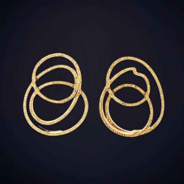 Rubber Band Earrings