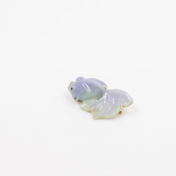 Jadeite Fish Pin