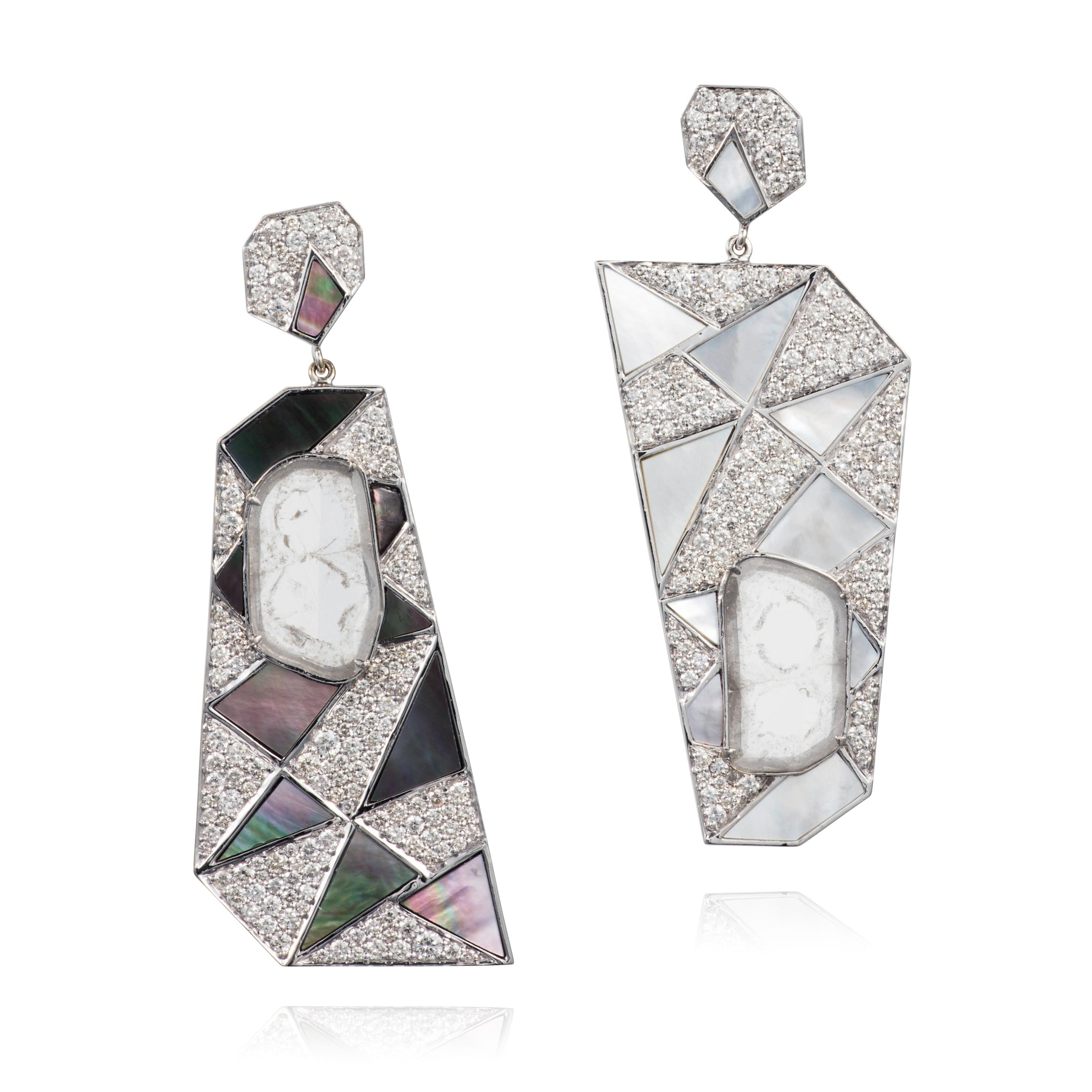 Geometrical Dangle Earrings