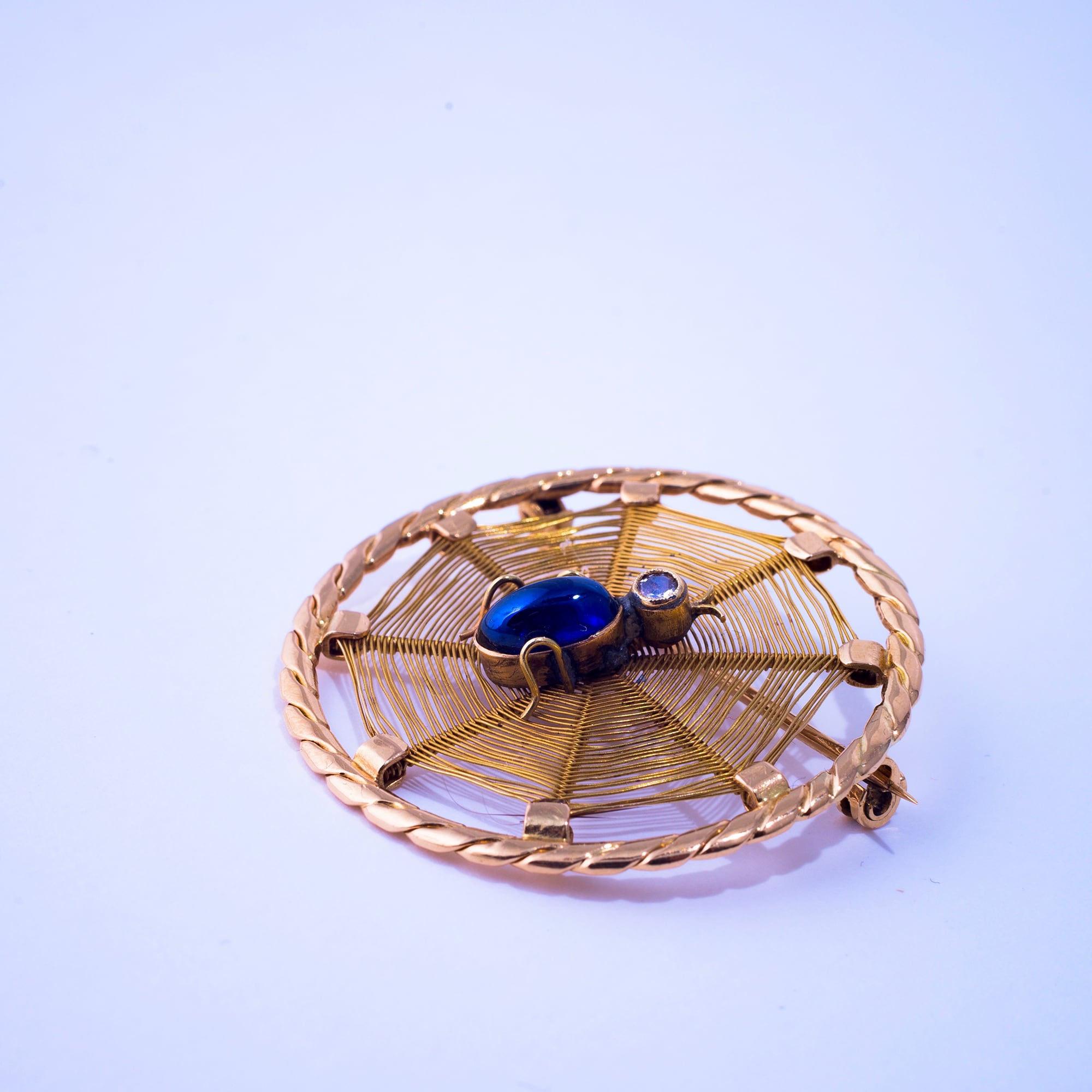 Spider Brooch