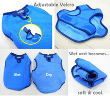 Load image into Gallery viewer, Pet Ice Cooling Vest