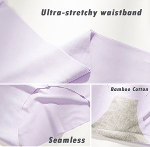 Invisible Breathable Ice Silky Panties (2Pcs)