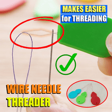 Load image into Gallery viewer, Wire Needle Threader (10 pcs)