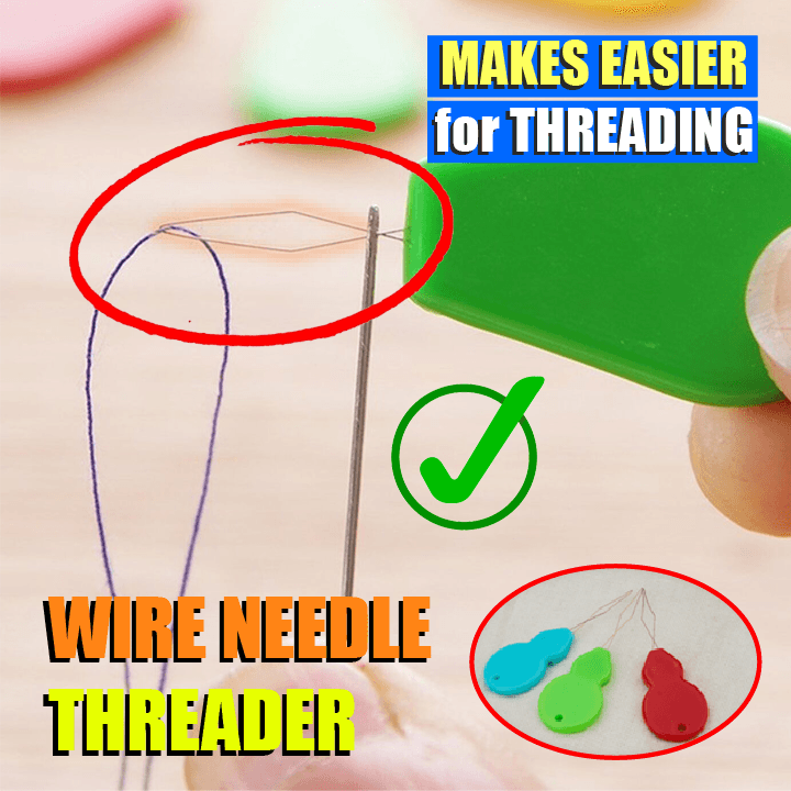 Wire Needle Threader (10 pcs)