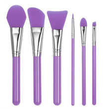 Load image into Gallery viewer, 6Pcs/set Professional Silicone Makeup Brush