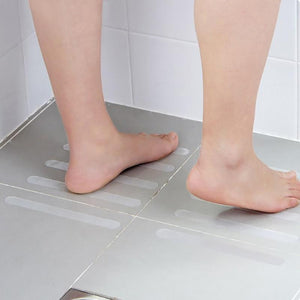 Bathroom Transparent Non-Slip Stickers (10 Pcs)