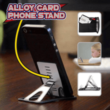 Load image into Gallery viewer, Alloy Card Phone Stand