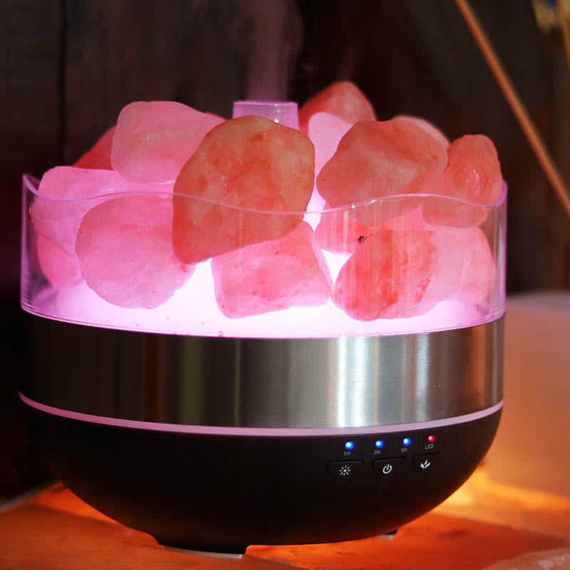 Himalayan Salt Diffuser Humidifier – Polished Stones
